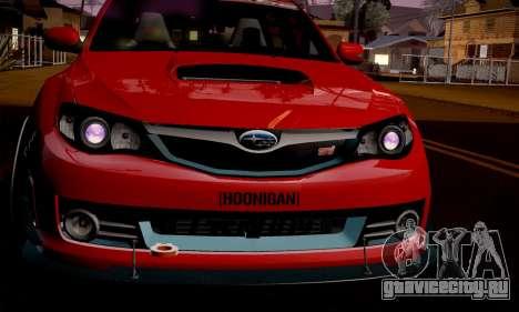Subaru Impreza WRX Camber для GTA San Andreas вид слева