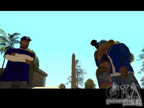 Piru Street Crips для GTA San Andreas десятый скриншот