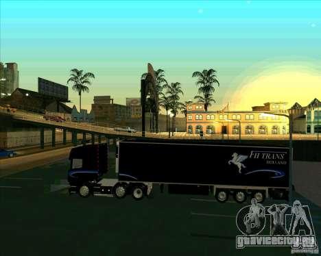 Scania R620 Pimped для GTA San Andreas вид слева