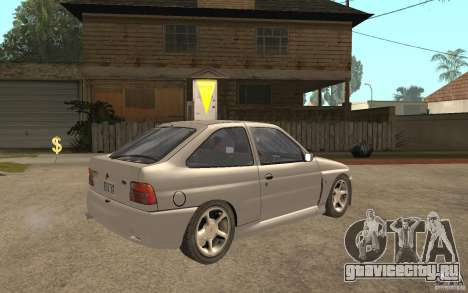 Ford Escort RS Cosworth 1992 для GTA San Andreas вид справа