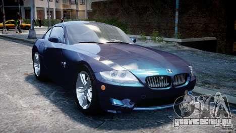 BMW Z4 V3.0 Tunable для GTA 4 вид сзади