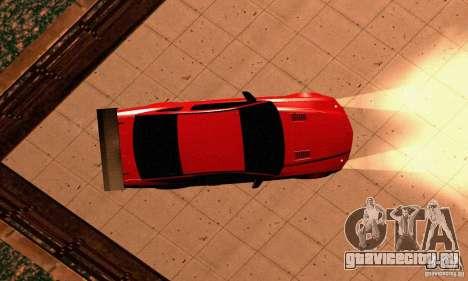 Shelby GT500 KR для GTA San Andreas вид сбоку