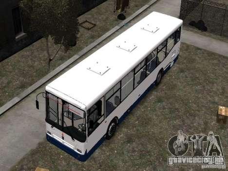 НефАЗ 5299-10-15 для GTA 4 вид сверху