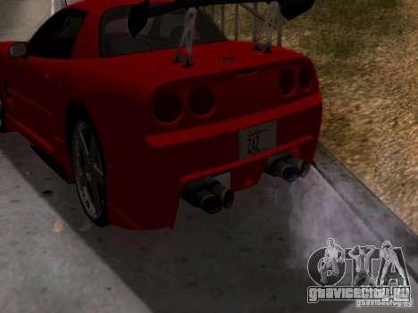 Chevrolet Corvette C5 для GTA San Andreas вид справа