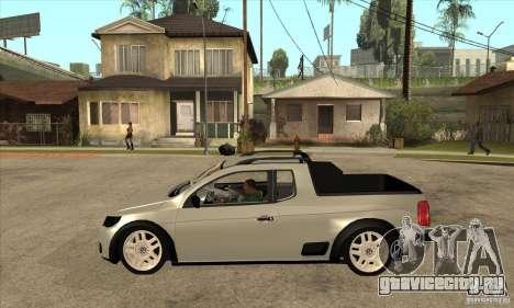Volkswagen Saveiro G5 для GTA San Andreas вид слева