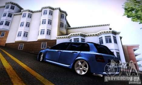 Fiat Stilo Abarth 2005 для GTA San Andreas вид слева