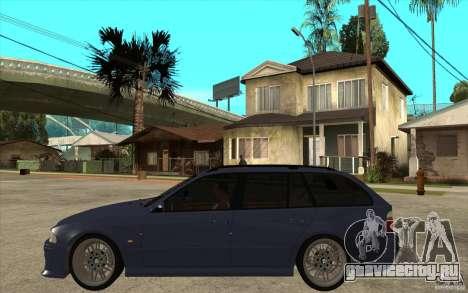 BMW M5 E39 530tdi Touring для GTA San Andreas вид слева