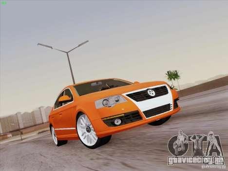 Volkswagen Magotan 2011 для GTA San Andreas двигатель