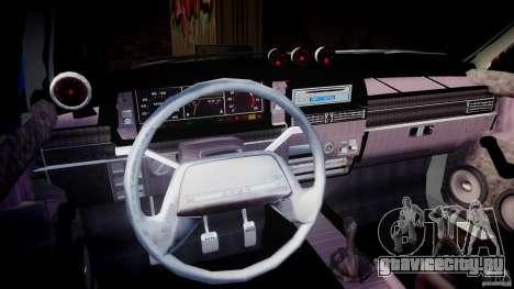 ВАЗ-2109 Samara 1999 для GTA 4 вид снизу