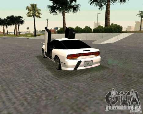 Nissan 240SX S13 для GTA San Andreas вид слева