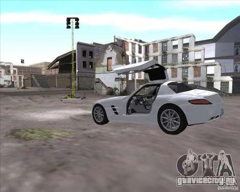 Mercedes-Benz SLS AMG для GTA San Andreas вид справа