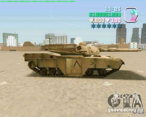 M 1 A2 Abrams для GTA Vice City шестой скриншот