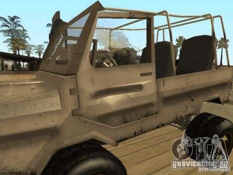 Луаз 969 Offroad для GTA San Andreas вид сверху