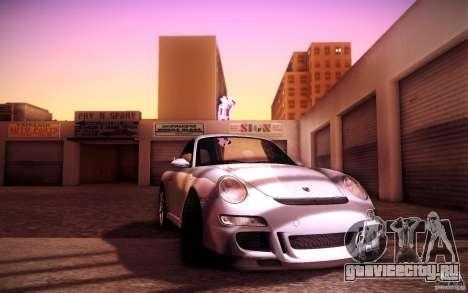 Porsche 911 GT3 (997) 2007 для GTA San Andreas вид сбоку