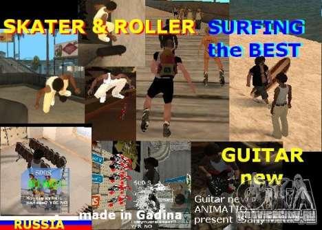 GTA SA SIMS real для GTA San Andreas второй скриншот