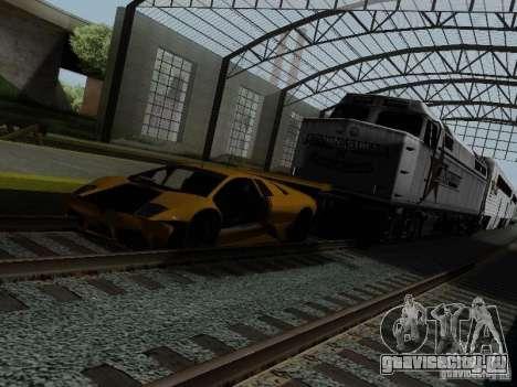 Crazy Trains MOD для GTA San Andreas седьмой скриншот