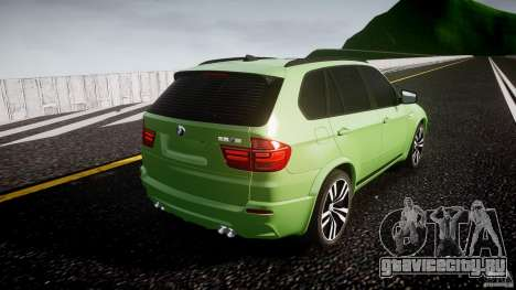 BMW X5 M-Power для GTA 4 вид сбоку