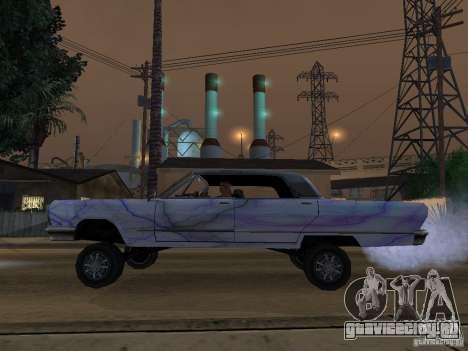 New Savanna - новые покрасочные работы для GTA San Andreas вид справа