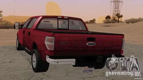 Ford F-150 Platinum Final 2013 для GTA San Andreas вид слева
