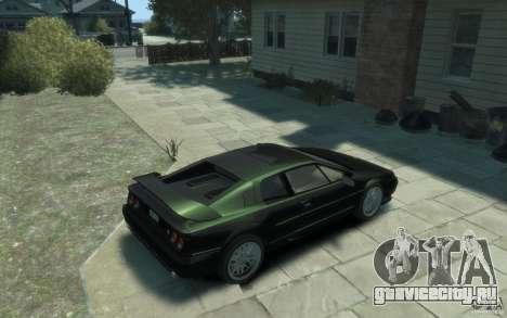 Lotus Esprit V8 для GTA 4 вид справа