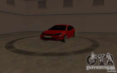 Ford Focus Light Tuning для GTA San Andreas вид сзади