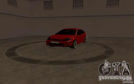 Ford Focus Light Tuning для GTA San Andreas вид сзади