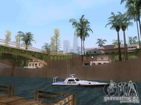 NEW Predator для GTA San Andreas вид сзади слева