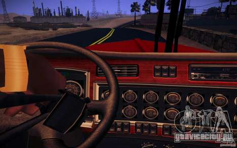 Kenworth W 900L для GTA San Andreas вид снизу