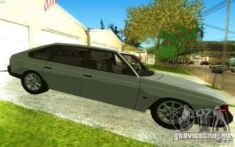 АЗЛК 2141 v2.0 для GTA San Andreas вид слева