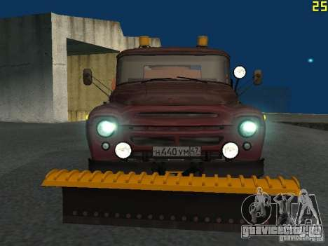 КО-829 на шасси ЗиЛ-130 beta для GTA San Andreas вид слева