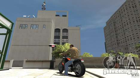 The Lost and Damned Bikes Revenant для GTA 4 вид сзади слева