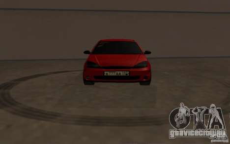 Ford Focus Light Tuning для GTA San Andreas вид изнутри