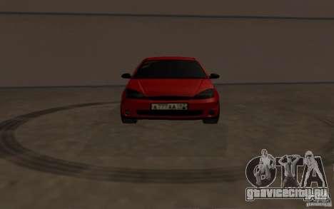 Ford Focus Light Tuning для GTA San Andreas вид изнутри