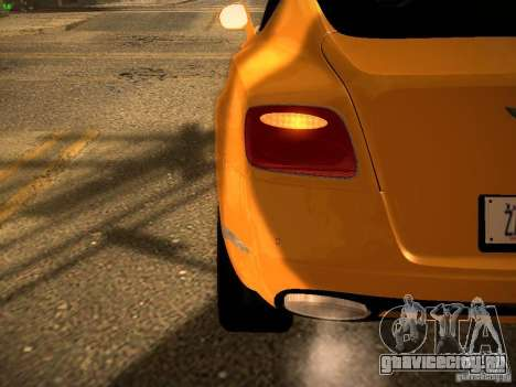 Bentley Continental GT 2011 для GTA San Andreas вид сбоку
