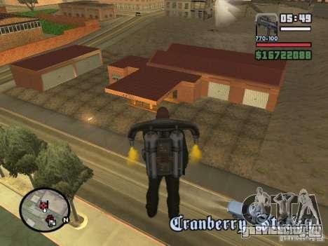 Новый Гараж в Дороти для GTA San Andreas второй скриншот