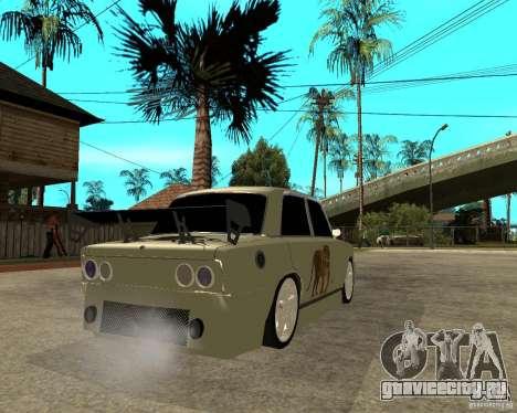 Ваз 2101 D-LUXE для GTA San Andreas вид сзади слева