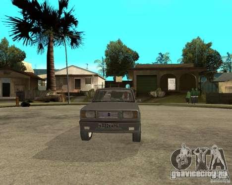 ВАЗ 2105 Лимузин для GTA San Andreas вид сзади