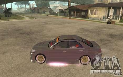 Toyota JZX110 Chaser V.I.P. Drifter для GTA San Andreas вид слева