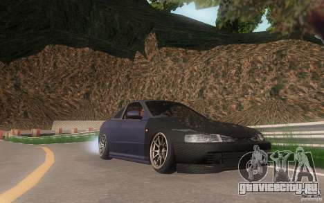 Honda Integra JDM для GTA San Andreas вид сбоку
