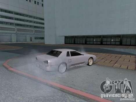 Elegy HD для GTA San Andreas вид изнутри