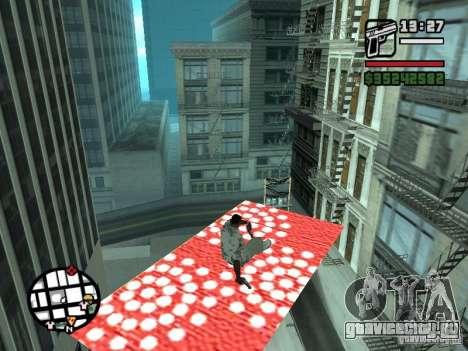 Ковер-Самолет для GTA San Andreas второй скриншот