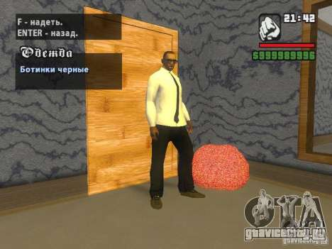 Рубашка с Галстуком для GTA San Andreas третий скриншот