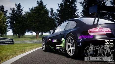 BMW M3 GT2 Drift Style для GTA 4 салон