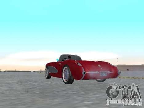 Chevrolet Corvette C1 для GTA San Andreas вид справа
