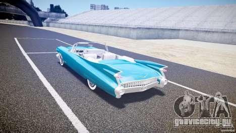 Cadillac Eldorado 1959 interior white для GTA 4