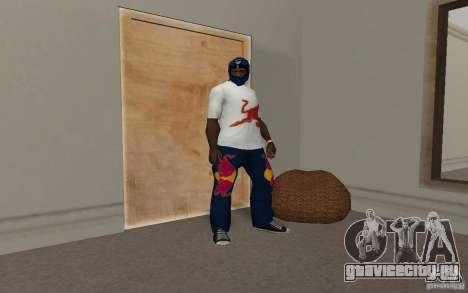 Red Bull Clothes v2.0 для GTA San Andreas пятый скриншот
