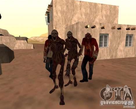 Zombie Half life 2 для GTA San Andreas восьмой скриншот