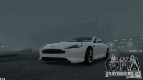 Aston Martin Virage 2012 v1.0 для GTA 4 двигатель