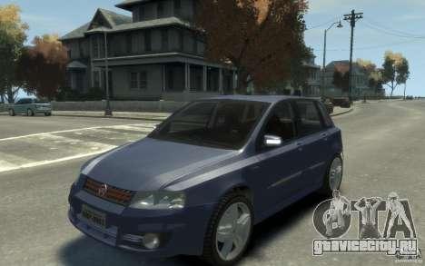 Fiat Stilo Sporting 2009 для GTA 4