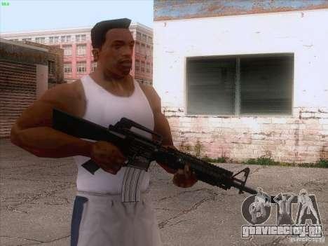 M16A4 для GTA San Andreas третий скриншот